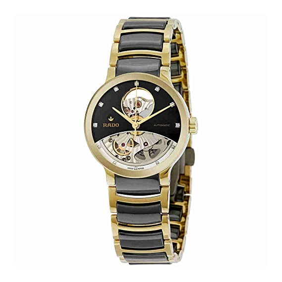 RADO Reloj DE Hombre AUTOMÁTICO 33MM Correa DE CERÁMICA DIAL Negro R30246712