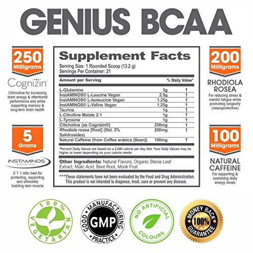 GENIUS-BCAA-Powder-with-Focus-Energy--Multiuse-Natural-Vegan-Preworkout-BCAAs-for-Mental-Clarity-and-Faster-Muscle-Recovery-Pre-Intra-and-Post-Workout-Drink-with-Memory-Enhancement-Orange-21sv