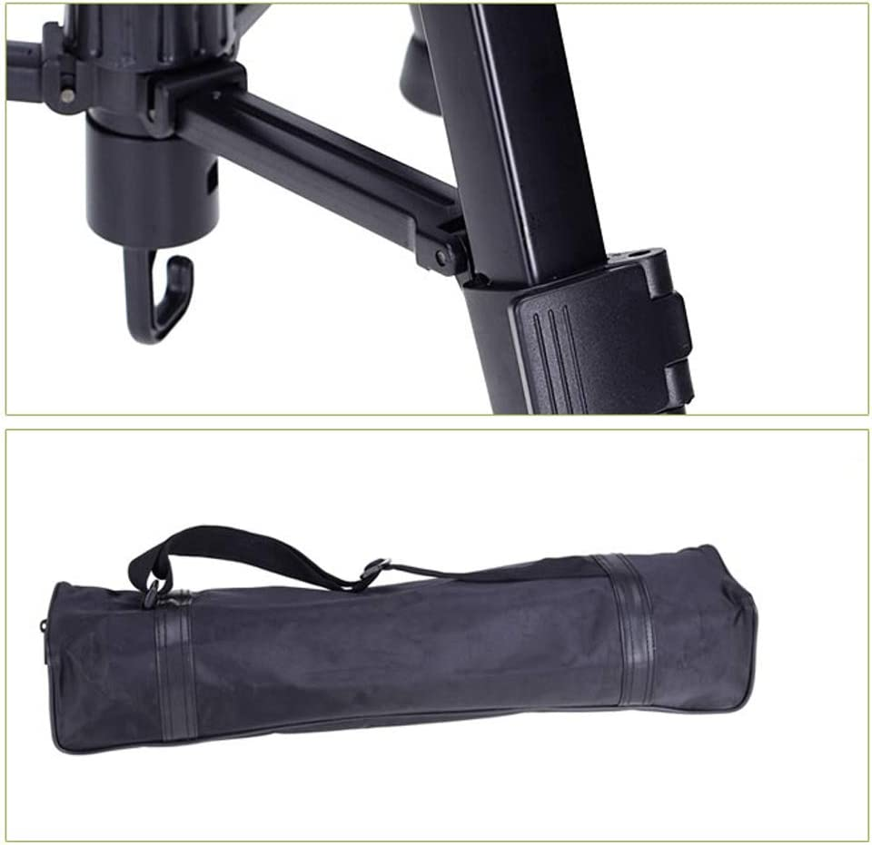 Multi-Style Optional with Portable Tripod Bag Design : B Suitable for Travel Outdoor Photography CJGXJZJ Camera Stand Tripod Light Aluminum Alloy Adjustable Height 3 Legs and Center Axle