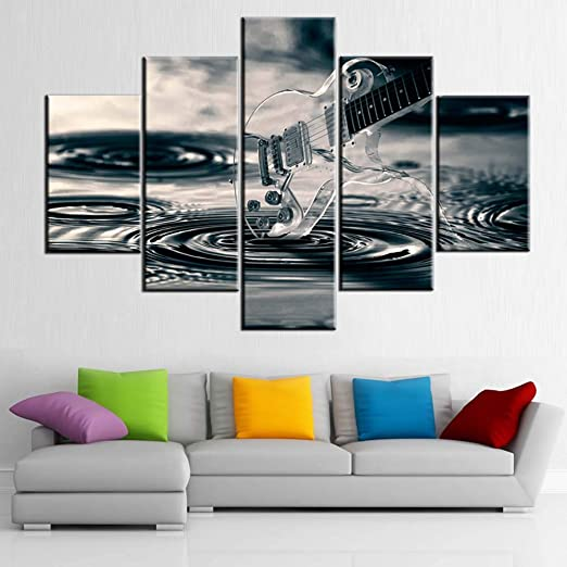 ABSTRACT JAZZ MUSIC MODERN CANVAS WALL ART PRINT PICTURE POSTER READY TO HANG