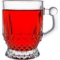 Paşabahçe İstanbul Kulplu Çay Bardağı, 6'lı