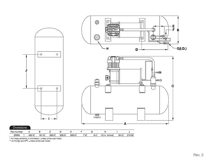 61g%2BAj6YtFL._SX681_ amazon com viair 150 psi high flow air source kit automotive omega train horn wiring diagram at fashall.co