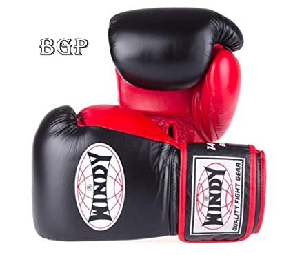 Amazon com : WINDY Boxing Gloves BGP Proline Black-Red