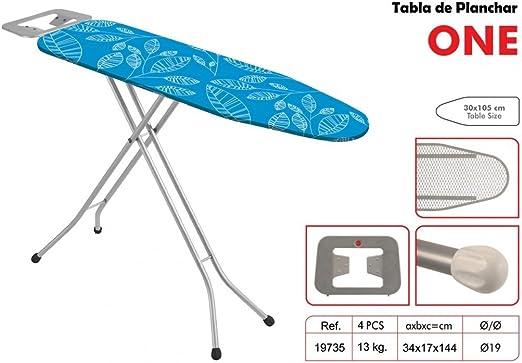 Garhe - Mesa para planchar, 125 x 32 cm, colores aleatorios ...