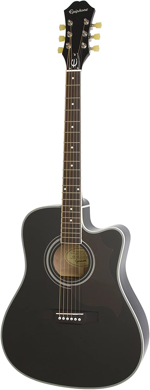 Epiphone FT-350SCE ébano–Guitarra electroacústica