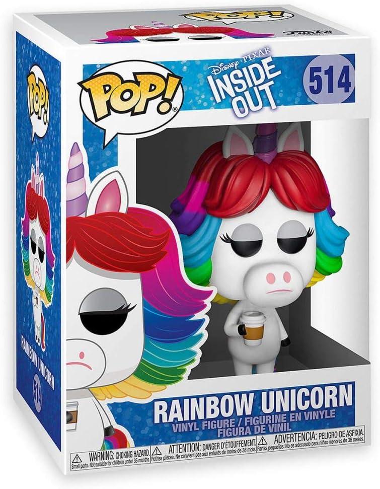Funko Pop Disney Pixar Inside Out Rainbow Unicorn Exclusive Vinyl Figure