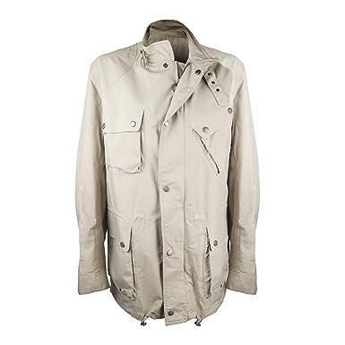 Barbour - Abrigo para Hombre, Color Beige, Talla L: Amazon.es: Ropa y accesorios