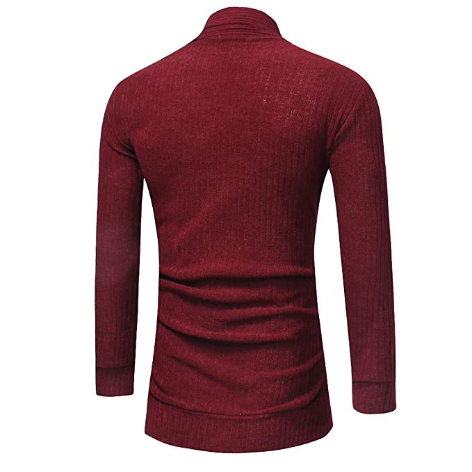 Amazon.com: Mens Coats for Mens Fashion Solid Cardigan Sweater Sweatshirts Slim FitCoat,Suit Jacket: Clothing