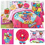 Shopkins Complete Bedding Set with Scented Pillow Buddy - Twin