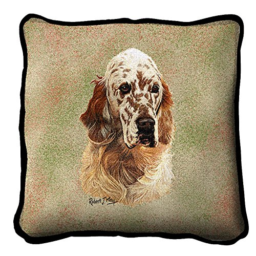 English Setter Pillow Cover (English Setter Tapestry)