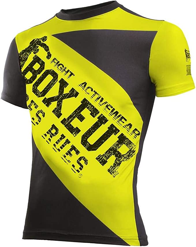 BOXEUR DES RUES Serie Fight Activewear T-Shirt Uomo