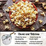 Wabash Valley Farms Popcorn Bucket - Blue Rim - 1