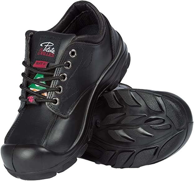 Steel Toe Safety Shoes |Black