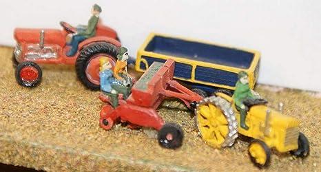 Maquinaria de Langley Models agrícola siembra N escala sin ...