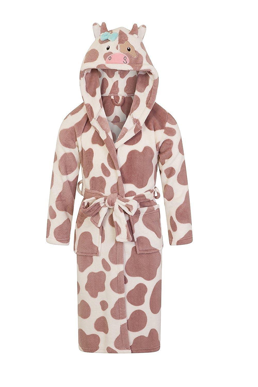Kids Nifty Kids 3D Cow Animal Hooded Robe lydiasluggage 04741