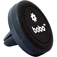 Bobo Universal Magnetic Air Vent Mount Car Phone Holder, with Fast Swift-Snap Technology for Smartphones and Mini Tablets (Black)