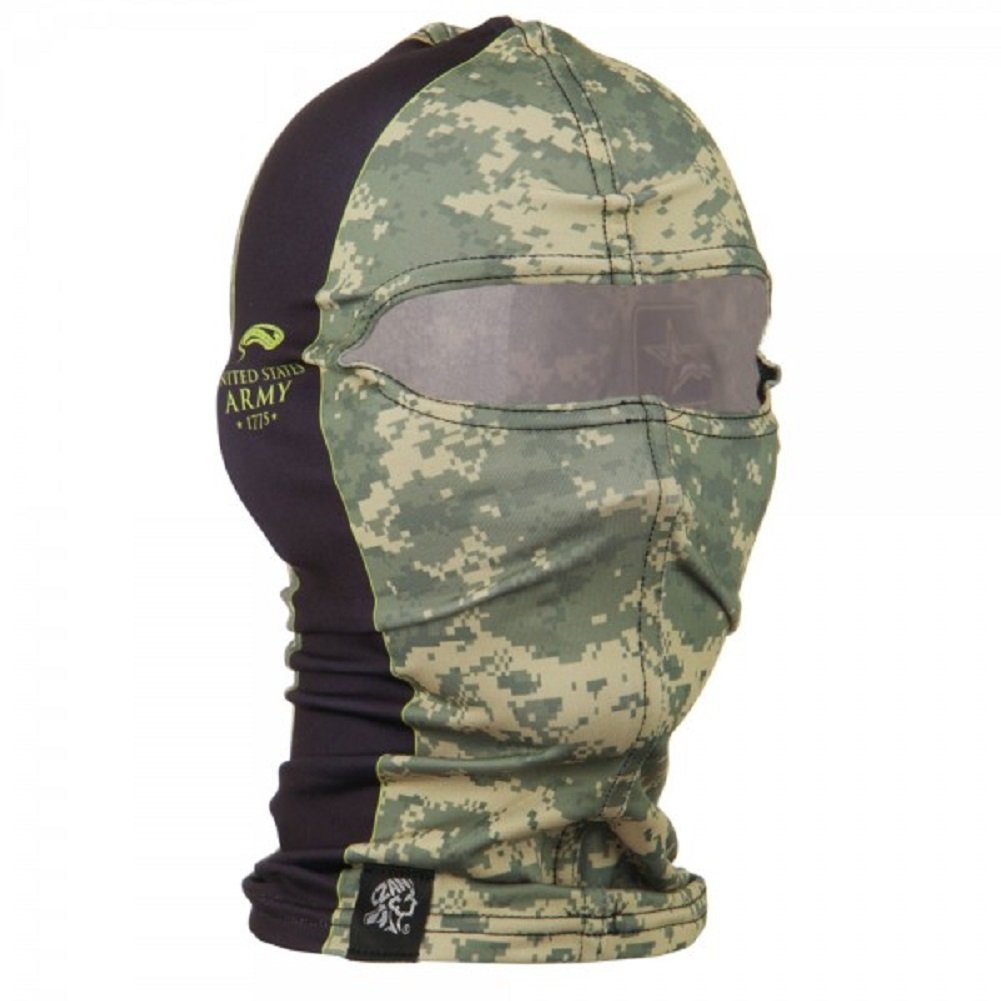 US Army Digital Camo Nylon Motorcycle Balaclava Face Mask