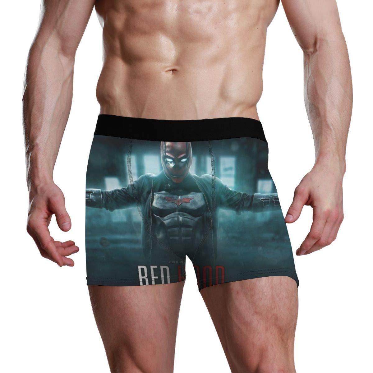 OJSFE Boxer Briefs Mens Underwear Pack Seamless Comfort SoftRed Hood