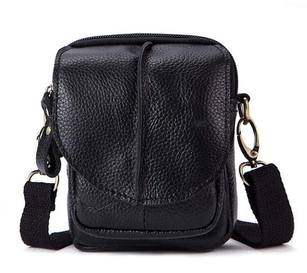 Sxuefang Mens Shoulder Bag Mens Messenger Bag Mens Bag Shoulder Bag Crossbody Bag Vintage Leather Mens Bag 14x4x11cm