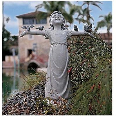 Design Toscano Basking in God's Glory Sculpture: Medium