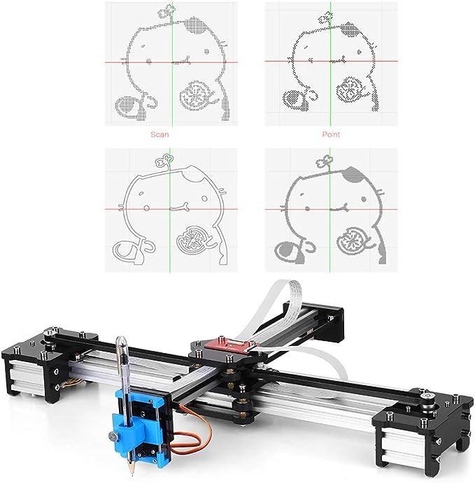 KKmoon Escritorio DIY Montado XY Plotter Pluma Dibujo Robot ...