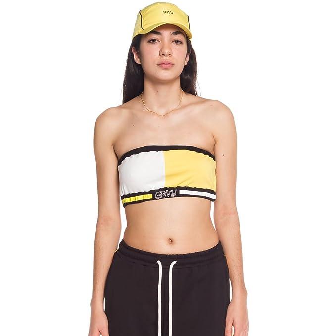 Grimey Camiseta Chica MANGUSTA V8 Top SS18 Yellow: Amazon.es: Ropa y accesorios
