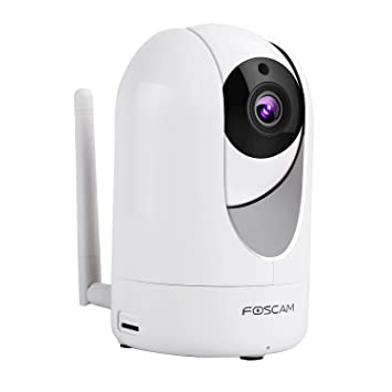 Foscam R4 WiFi Indoor IP Camera 4MP QHD (1440P) - Home CCTV Smart Security  System with Pan/Tilt/Zoom  Night Vision, Motion Detection, 2-Way Audio and