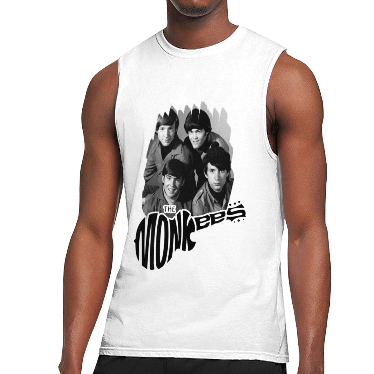 Seuriamin The Monkees S Fashion Hiking Sleeveless Muscle Short Sleeve T Shirt