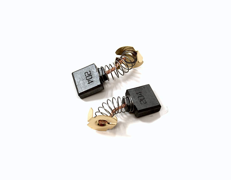 For Makita CB204 Carbon Brush Pair Brushes Set HM1800 HM1810 4112HS SA7000C