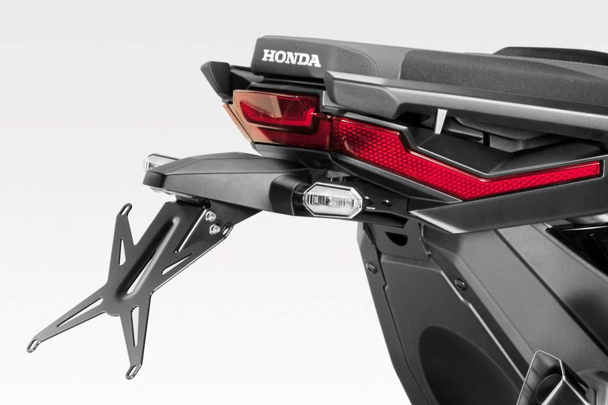 - 100/% Made in Italy XADV 2017 DPM Hardware-Bolzen Enthalten - Nummernschildhalter Halteplatte R-0901 Kit Kennzeichenhalter Exential Motorradzubeh/ör De Pretto Moto