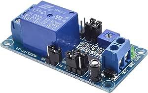 12V DC Delay Relay Module Delay Turn Off Switch Module with Timer Yosoo Health Gear Timer Relay