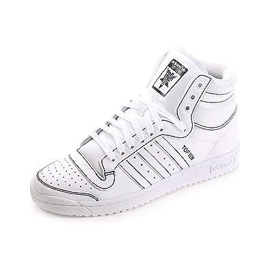 1743ca95108db Baskets montantes adidas Originals Top Ten pour homme en blanc: Amazon.fr:  Chaussures et Sacs