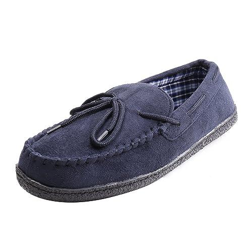 WILLIAM&KATE Zapatos de Los Hombres Cómodos (41, Azul Marino)