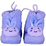 The First Baby Unisex Imported Bunny Winter Booties Shoes