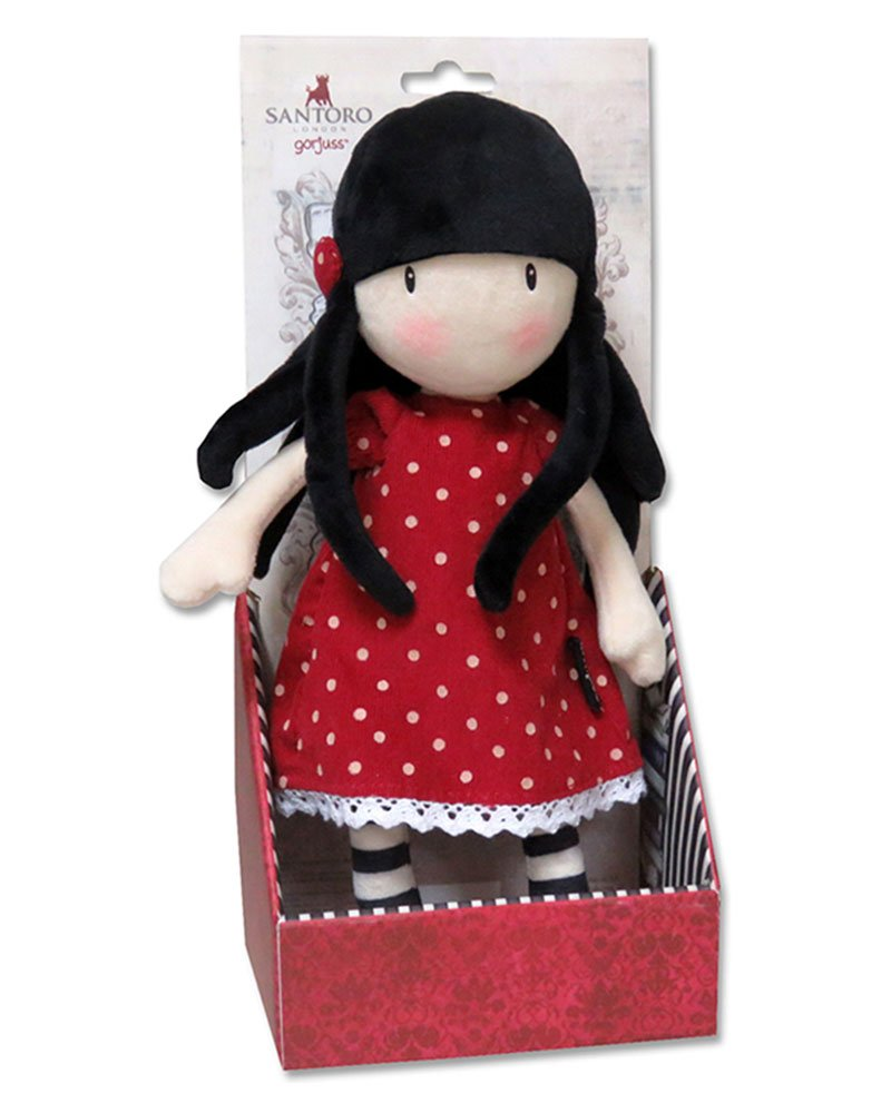 GORJUSS® Muñeca de Trapo 30 cm. En Display- New Heights Gorjuss CYP