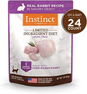 Instinct Limited Ingredient Diet Grain Free Recipe Natural Cat Food & Toppers