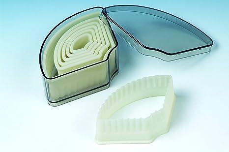 Moldes, Silicona 12 x 6 x 8 cm, diseño de Galletas de cortadores para