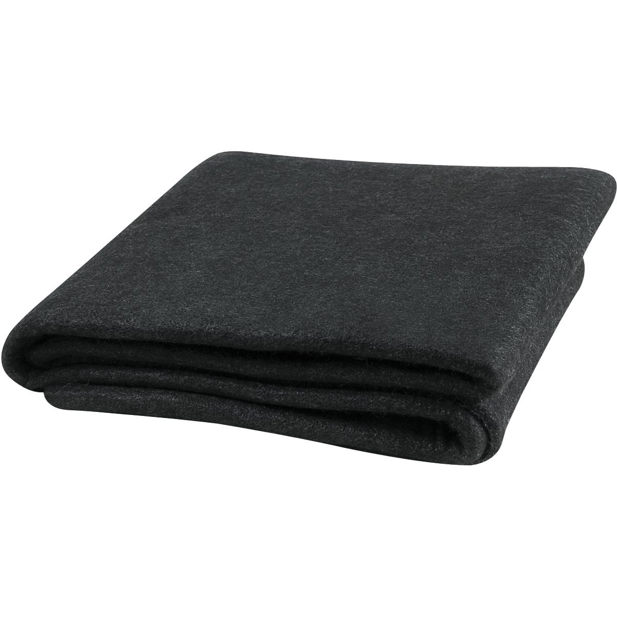 Steiner 316-6X8 Velvet Shield 16 oz Black Carbonized Fiber Welding Blanket, 6' x 8'