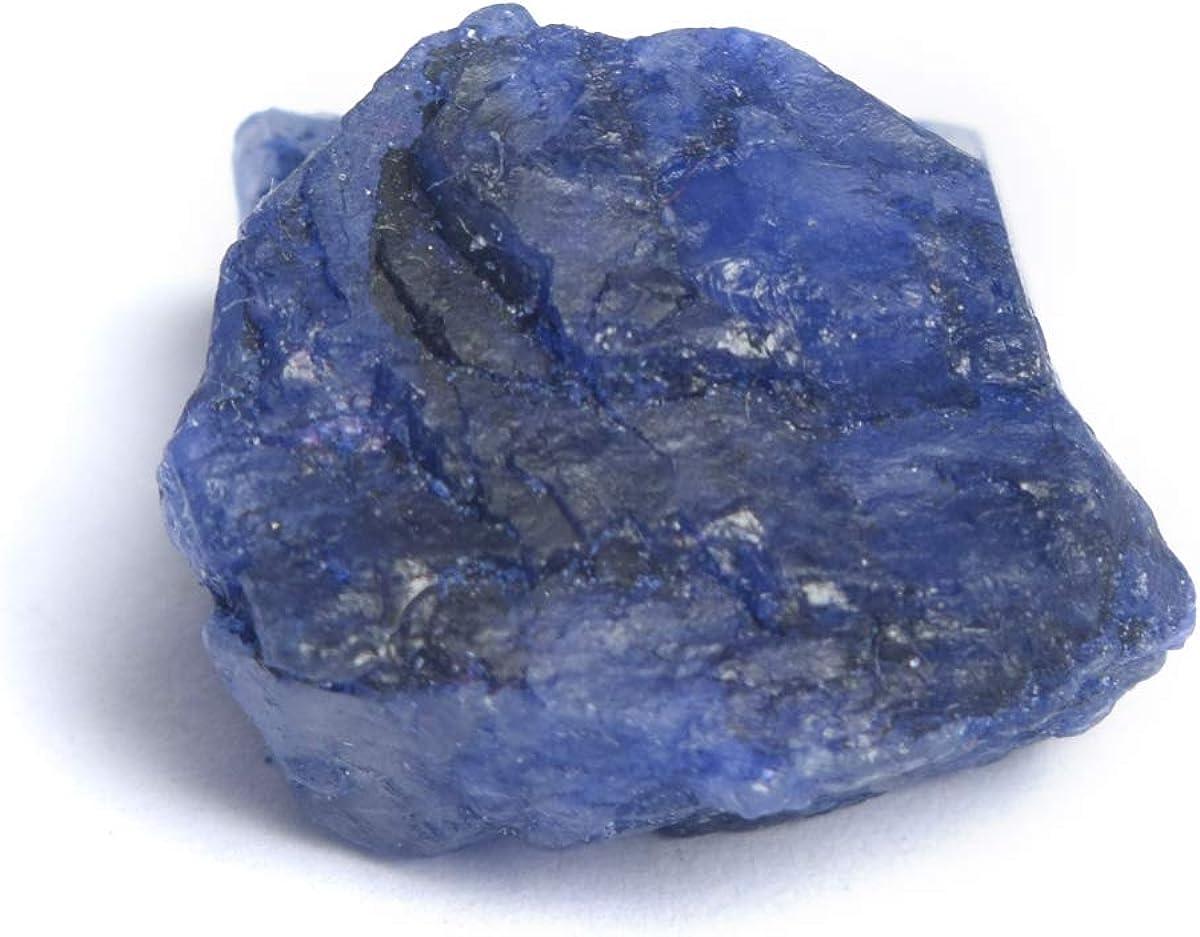 Natural Blue Sapphire Rough Raw Loose Gemstone j