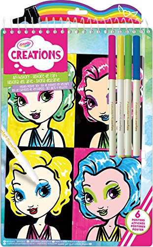 Crayola Creations History Velvet Posters