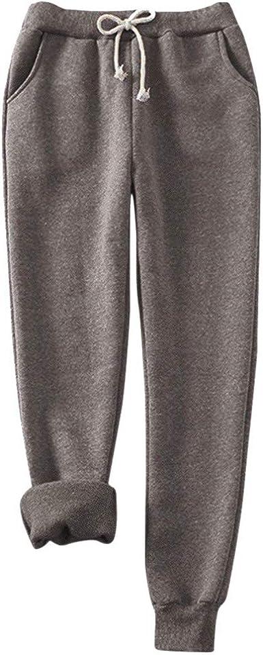 ღLILICATღ Pantalones de Invierno de Mujer, Pantalones de harén ...