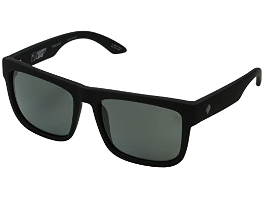 9e32e20d07 Spy Discord Sunglasses Soft Matte Black with Happy Gray Green Polarized Lens