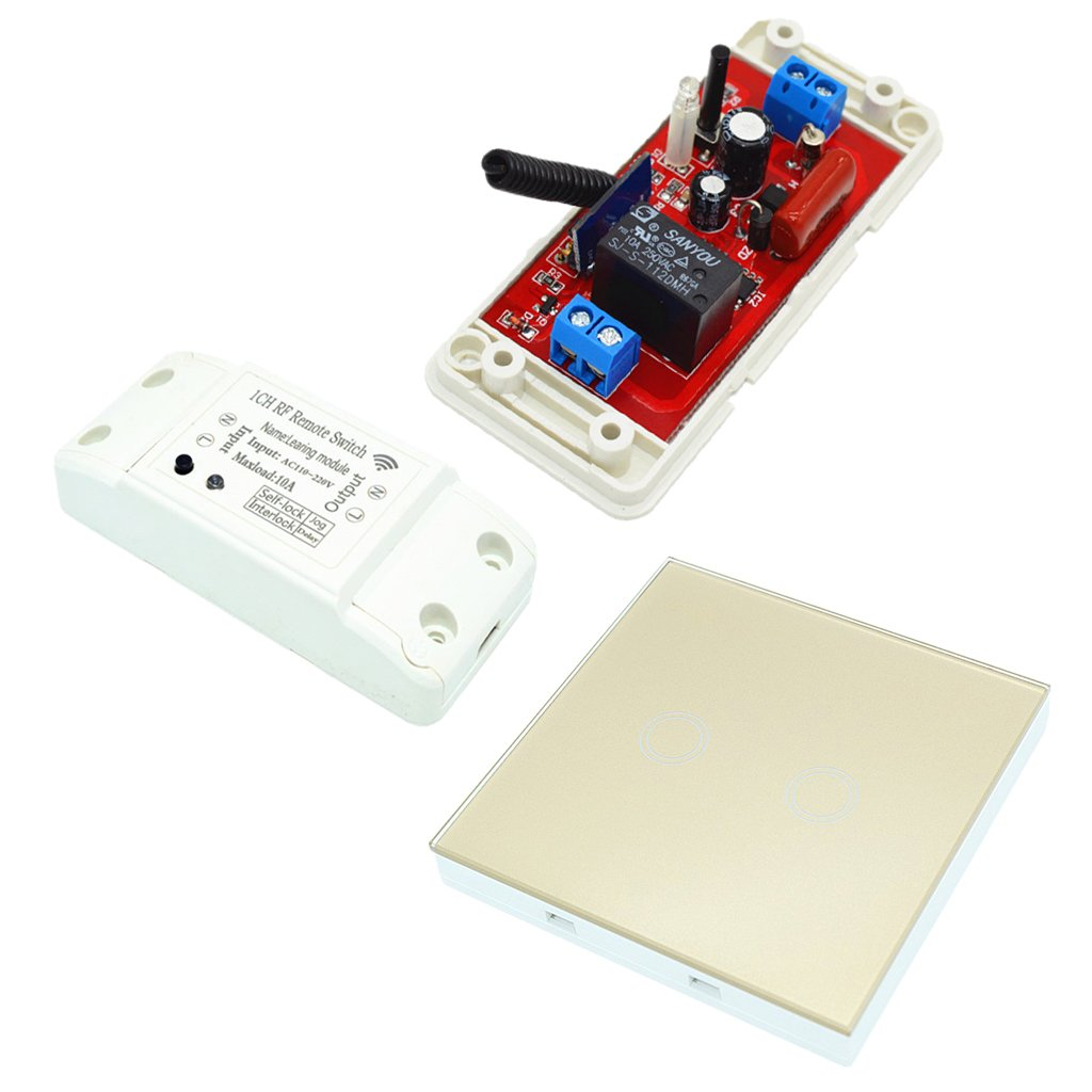 gaixample.org MagiDeal 220V 433M Wireless Relay Delay Switch Door ...