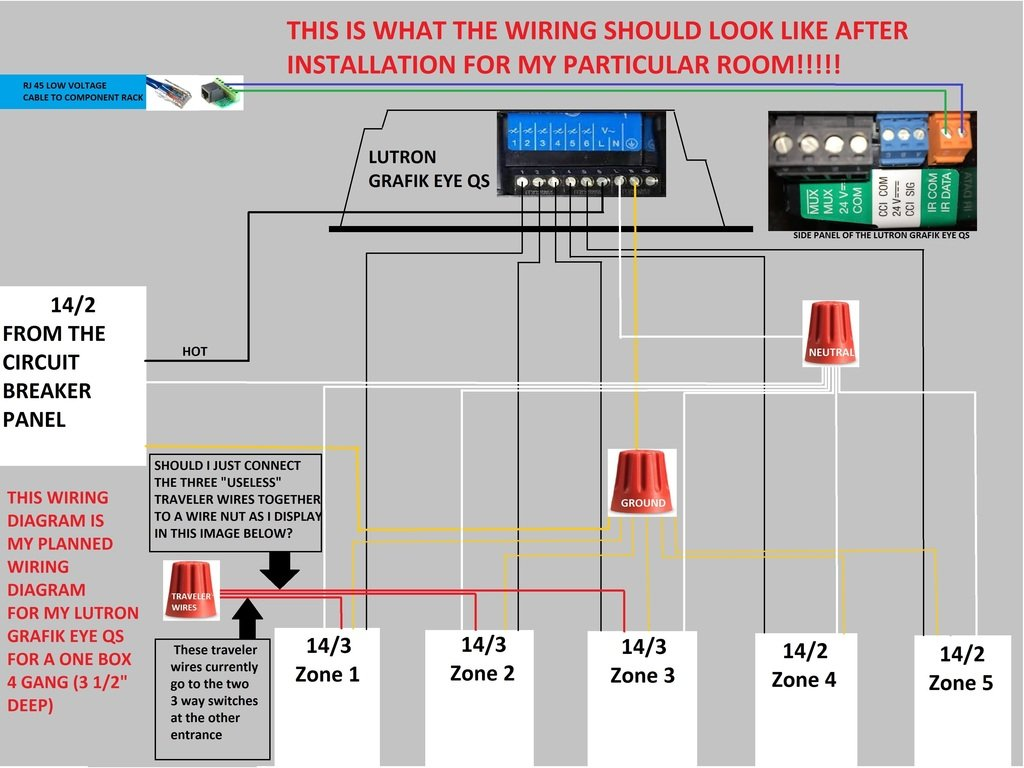 lutron qs wiring diagram   24 wiring diagram images