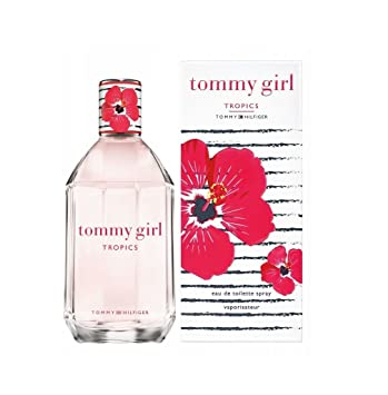 8fd958445b9367 Amazon.com : TOMMY GIRL TROPICS by Tommy Hilfiger 3.4 oz EDT Spray Womens  Perfume 100 ml NIB : Beauty