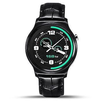 PINCHU GW02 Bluetooth Reloj Inteligente IPS Redondo Pantalla ...