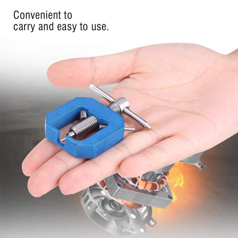 Dilwe Extractor de Engranajes de Motor RC Azul Herramienta Profesional Extractor de Extractor de Engranajes de Pi/ñ/ón Universal para Motores RC Accesorio de Parte de Actualizaci/ón
