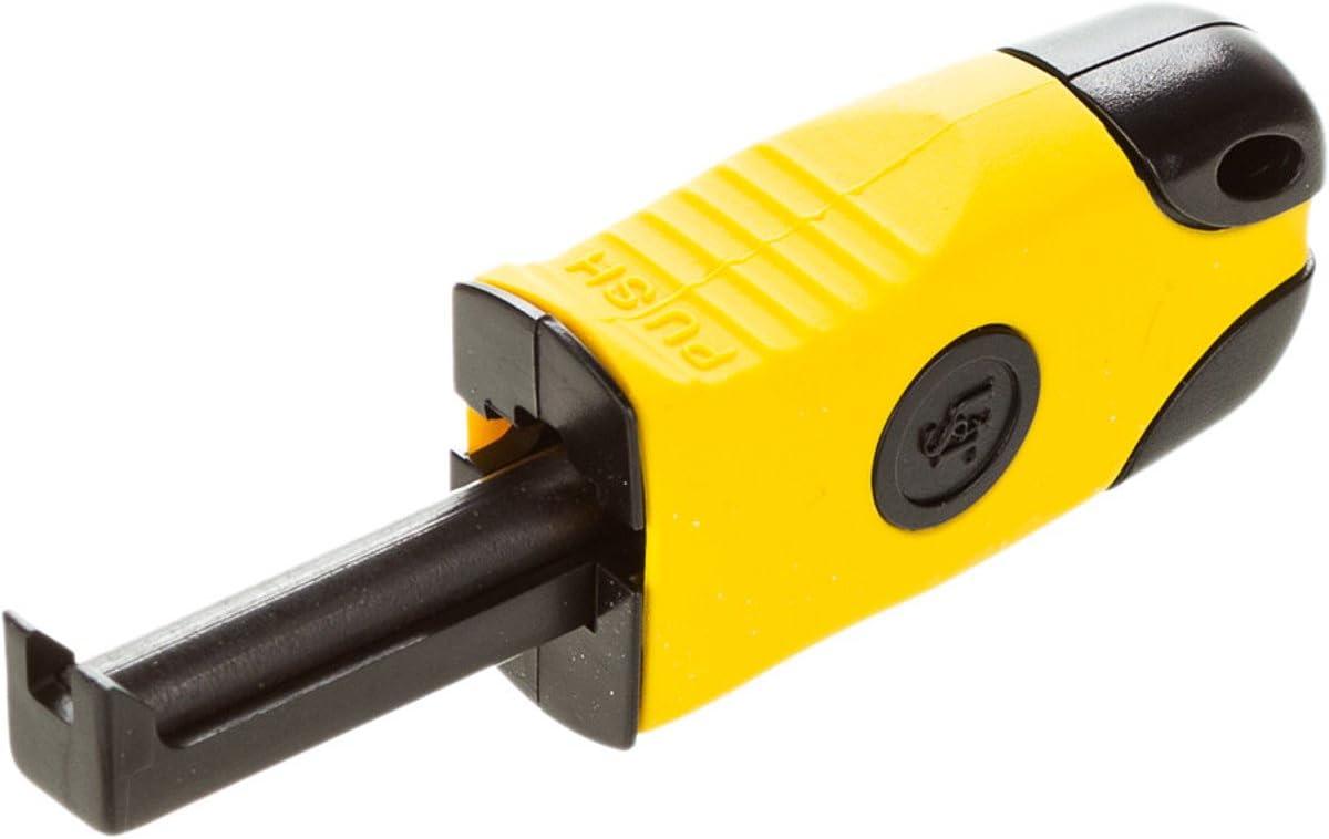 Yellow Sparkie Flint Fire Starter Striker Magnesium Emergency Survival Tool