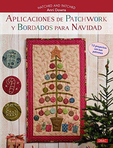 Aplicaciones de patchwork y bordados para navidad