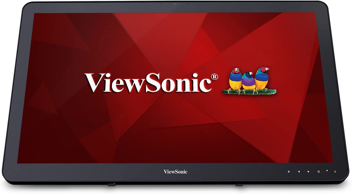 ViewSonic TD2430 24 Inch 1080p 10-Point Multi Touch Screen Monitor with HDMI and DisplayPort